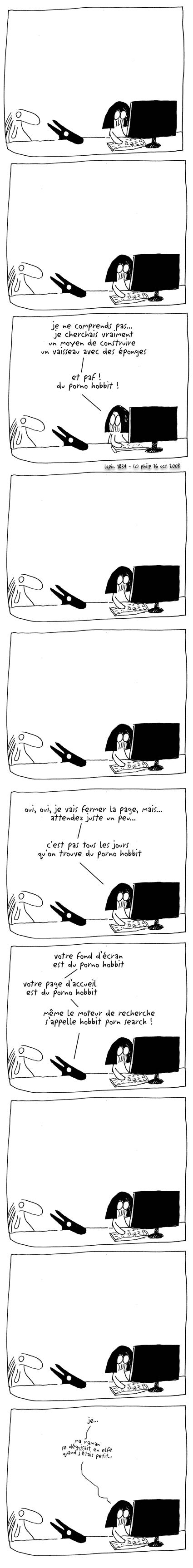 Roi de la colline bande dessinée porno BD