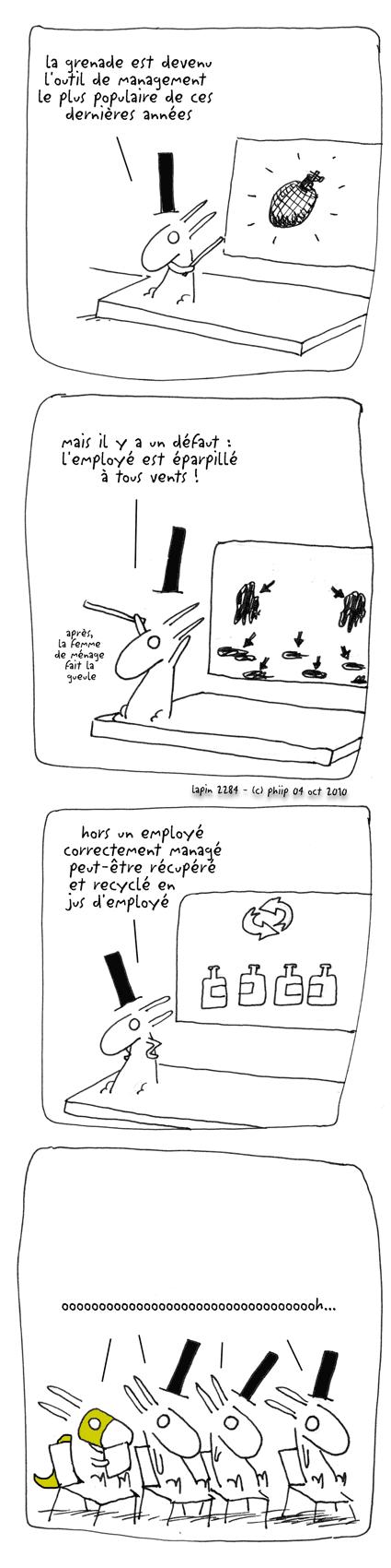 éparpillé