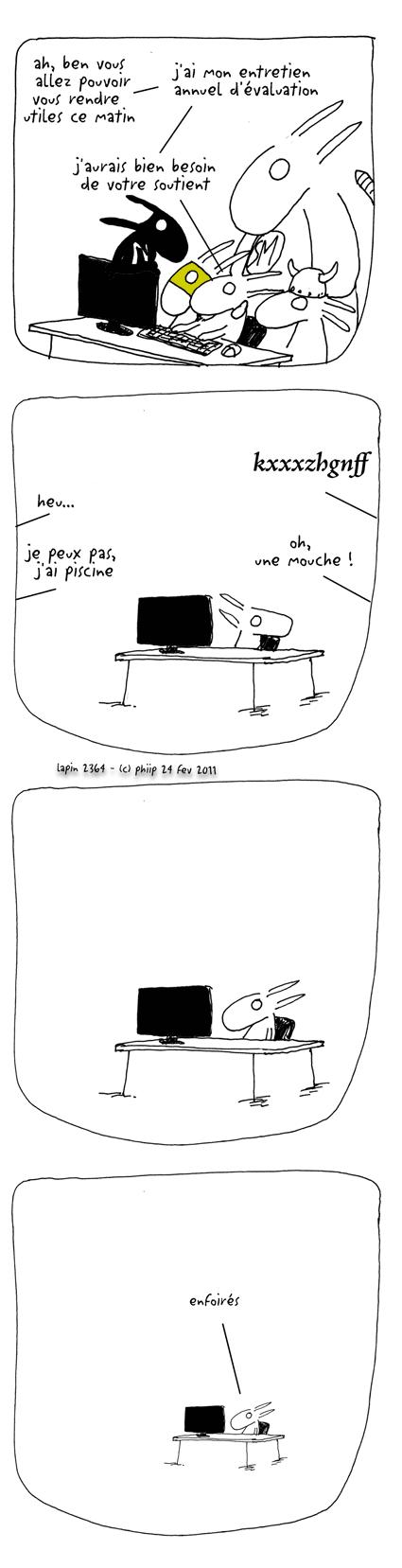 lapin bd humoristique quotidienne entretien annuel valuation. Black Bedroom Furniture Sets. Home Design Ideas