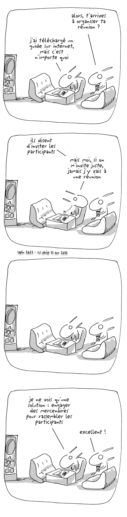 Organiser une réunion, par phiip